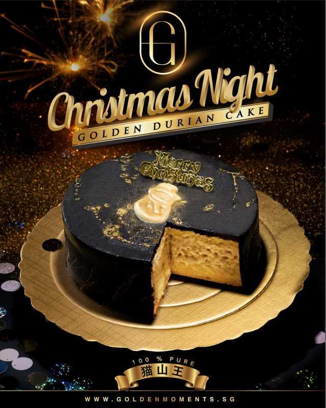 Christmas Night Durian Cake [EARLY BIRD PROMO]